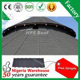 Tuile de toit enduite en métal en métal de toit de pierre bon marché de tuile