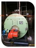 산업 석유 연소 가벼운 기름 디젤 엔진 가스에 의하여 발사되는 증기 온수 보일러 (WNS1T)