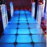 Étape en verre en aluminium de Portable d'étape de vente chaude