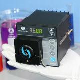 Bq80s Micrometeorの速度小型可変的な蠕動性ポンプPharmerの触媒ポンプ流動度0.005-32ml/Minute