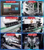 Máquina de etiquetas redonda/quadrada da luva do Shrink da etiqueta do frasco do suco do animal de estimação (SLM-250B)