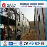 Qualität vorfabrizierter Haus-Arbeitslager-Entwurf, schnelles Gebäude-Rahmen-vorfabriziertes Haus oder Fertighaus-Haus