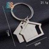 Кольцо ключевой цепи Keychain форменный металла дома изготовленный на заказ ключевое