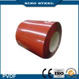 rol van het Staal van het Aluminium van 0.3mm de Filmed Vooraf geverfte Kleur Met een laag bedekte