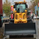 cargador de la rueda 2ton con la lámina de la nieve para el mercado de Canadá