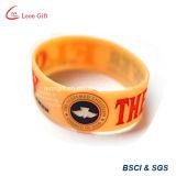 Wristband variopinto del silicone per lo sport (LM10485)