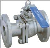 Matériau du robinet à tournant sphérique rayé de PFA CF8