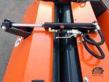 A prensa redonda Yk0850 do feno da exploração agrícola combinou com o mini trator