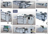 Ручная UV лакировочная машина Sguv-660 для бумаги с сборником Jogger