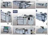 Sguv-660 조깅하는 사람 수집가를 가진 종이를 위한 수동 UV 코팅 기계