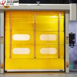Дверь PVC оптовой высокой плотности Китая промышленная высокоскоростная штабелируя