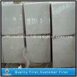 Natürlicher China-weißer Kristallmarmor für Fußboden-Fliesen und Countertops