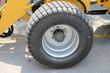 carregador Zl10 da roda 1t com pneus mais largos 33X15.5-16.5