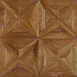 Исправленный французским настил мозаики Версал дуба проектированный полом деревянный