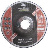 Metalのための落ち込んだCenter Cutting Disc 115x3x22