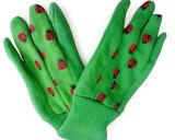 Цветастая перчатка работы Gardenning хлопка