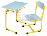 2015 신식 School Furniture Single Student Desk 및 Chair