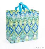 Большой квадратный мешок подарка, бумажные мешки, хозяйственная сумка, мешки подарка