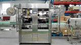 Máquina de etiquetas automática para o corpo e o tampão do frasco