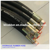 Hose Fitting를 가진 En853 High Pressure Rubber Hydraulic Hose