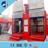 Ascenseur d'élévateur de matériau de construction de cage de la série Sc100/100 de Sc de Xingdou double
