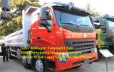 Dumper de tombereau de camion à benne basculante des roues HOWO A7 8X4 de Sinotruk 12, 50-60 tonnes, 336HP, Rhd/LHD avec un dormeur, euro II