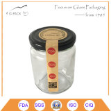 Contenitori di vetro del commercio all'ingrosso della fabbrica della Cina con la protezione del metallo per l'inscatolamento dell'alimento