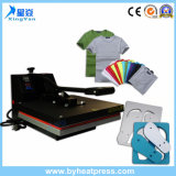 Calor máquina popular de la cubierta de la generación de la sublimación de la impresión de la camiseta de la máquina 38X38cm/15 '' x15 '', 40X50cm/16 '' x20 '', 40X60cm/16 '' x24 '' de la prensa