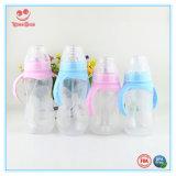 Automatische BPA geben Milch-Baby-Flasche mit Griffen frei