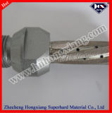 Glass Milling Cutter/Diamond Core Drill Bit를 위한 소결된 Diamond Finger Bit