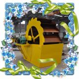 Промышленное моющее машинаа используемое для песка делая производственную линию