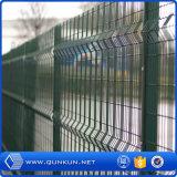 Гальванизированный PVC покрасил сваренное 3D дистанционирование столба проволочной изгороди с ценой по прейскуранту завода-изготовителя