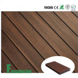 Plataforma ao ar livre composta plástica de madeira impermeável da co-extrusão WPC dos materiais de construção