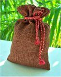 Мешок пакета кофеего мешка Drawstring мешковины OEM с дешевым ценой