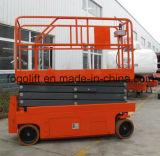 Il mini Mobile delle rotelle commerciali di assicurazione quattro Scissor l'elevatore della piattaforma