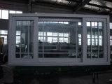 조정 창틀과 석쇠 디자인을%s 가진 주문을 받아서 만들어진 대규모 PVC 슬라이딩 윈도우
