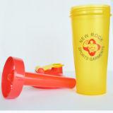 600mL BPAは中ミキサーの球が付いているプラスチックシェーカーのびんを、KL-7010C放す