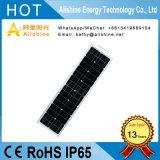 50W im Freien Solar-LED Straßenlaternemit Cer RoHS Bescheinigung