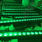 고성능 18PCS LED 바 벽 세척 6in1 LED 빛