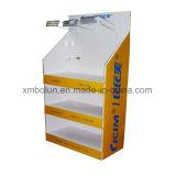 Présentoir personnalisé par modèle neuf chaud d'étage de carton de vente pour le système
