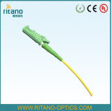 Pigtails simples da fibra óptica da manutenção programada E2000APC/Patchcords