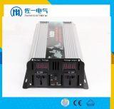 5000W 24VDC ao inversor puro da potência de onda do seno 220VAC com carregador