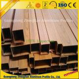 Tubes en aluminium des graines en bois pour la décoration de guichet et de porte