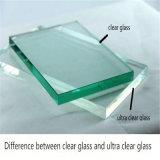 vidro ultra desobstruído do vidro de 15mm/flutuador/vidro desobstruído para paredes de cortina