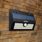 Helles Solarsicherheits-Bewegungs-Fühler-wetterfestes Licht des licht-20 LED mit drei intelligenten Modi für im Freien
