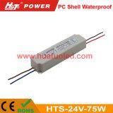 bloc d'alimentation de 24V3.1A DEL/lampe en plastique/bande flexible IP67 imperméable à l'eau