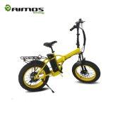 montaña Fatbike eléctrico de 350W AMS-Tdn-02 con el modelo plegable