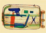 Varredor médio da bagagem do raio X do tamanho (ELS-8065)