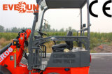 Gebildet im China-CER Approved Everun Er06 Mini Wheel Loader