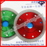 125mm Hot Press Turbo Diamond Saw Blade para Granito de Mármore